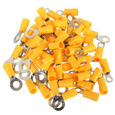 20PCS 4-6mm² Gele Ring Warmte Krimp Elektrische Terminals Connectoren