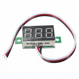 DANIU MINI DC 0-32V Voltmetro 3-Digitale con LED Display