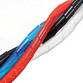 10M Spiral Tel Sarf Tüp PC için Kablo Yönet Ev Kablosu 4-50MM