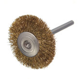 3mm Brass Wire Wheel Brush Cup forDrill Rust Weld Die Grinder