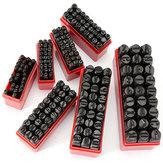 27pcs Letters Stalen Punch Stempel Die Set Metal Tool 3/4/5/6/8/10 / 12.5mm