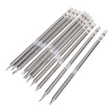 10pcs T12 Series Solder Iron Tips for Hakkoo Soldering Station FX-951 FX-952