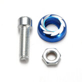 M5 / 5mm Windscreedn Schroef Bolt Blauw Universele Motor Fiets Body Faring Kit