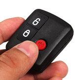 Caso remoto chave 3 botões preto shell para ford território vagão