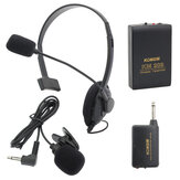 Wireless Clip-on MIC Mini Microphone Transmitter Headset KM209