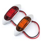 12V LED Side Mark Light Trailer Truck Clearance Lamp DOT&SAE Approved