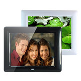 8 Inch HD TFT LCD Digital Movies Frame MP3 MP4 Player Remote Control