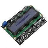 Keypad Shield Blue Backlight For Robot LCD 1602 Board Geekcreit لـ Arduino - المنتجات التي تعمل مع لوحات Arduino الرسمية
