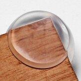 Protetor de canto mesa transparente esférica para a segurança do bebê
