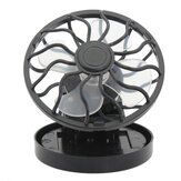 Portable Mini Solar Powered Clip Fan & Cooling Fan Energy Saving