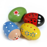 Baby Kind Spielzeug Egg Maracas Musik Shaker Rassel Percussion
