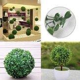 البلاستيك الاصطناعي توبياري الكرة شجرة الديكور النبات