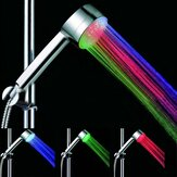 LED Colored Automatic Temperature Sensor Hand Shower Head