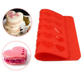 Hart Macaron Baking Mould Silicone Mat Pastry Sheet Muffin Tray