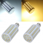 E27 15W 86 SMD 5050 White/Warm White LED Corn Light Bulbs AC 220V