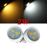 E14 2W SMD 5630 White/Warm White LED Spot Light Bulb 110V