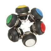 Auto Auto Momentary OFF ON Druk Ronde Knop Hoorn Switch Multicolor