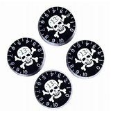 Speed Control Knobs With Skull Crossbones For Electric Guitar