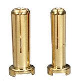 4mm 5mm Banana Plug Plated 7U Gold