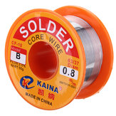 0.8mm 50g Rosin Core Soldeerdraad 63/37 Tin Lead Flux Solderen Lasser Ijzerdraad Reel