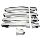 Chrome Door Handle Cover for Toyota RAV4 Prius Camry Corolla 03 11