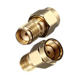 DANIU SMA Female Jack To RP-SMA Male Jack RF Coaxial Adapter Connector