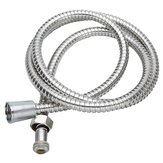 2M Flexible Stainless Steel Chrome Shower Head Bathroom Water Hose
