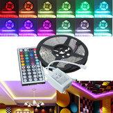 5M RGB 5050 SMD Nicht wasserdicht 300 LED Leuchtstreifen DC 12V