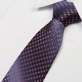 Mens Arrow Type Business Jacquard Dot Pattern Ties