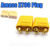 Amass XT90 Male Female Bullet Connectors Plugs For RC Battery