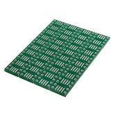 20 PCS SOP8 SO8 SOIC8 SMD to DIP8アダプタPCBボードコンバータ