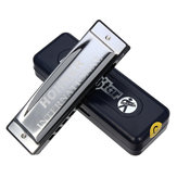 Silver Star HOHNER Harmonica 10 trous C Key Blues