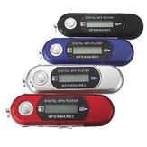 8GB Mini MP3 USB Flash Drive LCD Music Player With FM Radio