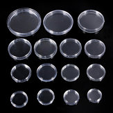 10pcs 18mm to 50mm Boxed Lighthouse Coin Capsules Coin Display Cases