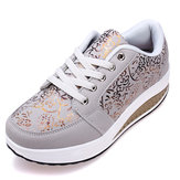 Women's Casual Shake Sneakers Shoes Non slip Platform Shoes