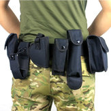 Tactical Belt With 9 Pouches Outdoor Utility Kit