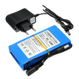 DC12V 3000mAh Super akumulator Portable Lithium Battery UE Plug