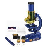 Nostalgiczny 100X 200X 450X Edukacyjny LED Classic Mikroskop Lab Mikroskop Nature Games