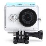 Boîtier étanche pour xiaomi sports yi caméra sous-marine 40m sauvegarder cas