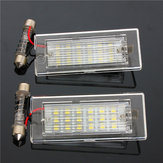 18 LEDs Number License Plate Lights White Lamp for BMW X5 E53 X3 E83