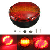 Universele LED Combinatie Achter Staart Stop Indicator Light Round