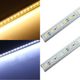 50cm 36 LED 5050 SMD tira duro fixture final shell luz 12v
