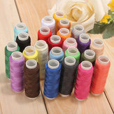 24 Color Cotton Sewing Thread Spools Sewing Machine Accessories