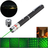 XANES GD11 5-i-1 532nm Kraftig All Star Grøn Laser Pointer Pen + Star Cap