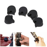 5pcs Practical Rubber clarinet Finger Cushions Black
