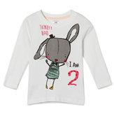 2015新しいリトルMaven夏の赤ちゃんの女の子の子ウサギ白い綿のロングスリーブTシャツ