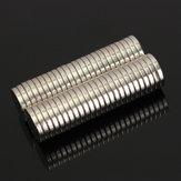 50pcs 12mm x 2mm n50 rondes puissants aimants terres rares aimants néodyme
