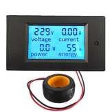 Geekcreit® 100A 22000W Power Monitor Module AC Meter Panel 45-65Hz Test Voltage AC 80-260V