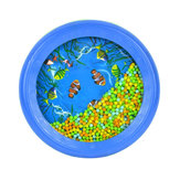 Baby Toddler Colorful Ocean Wave Drum Sea Sound Early Educational Toy Tool