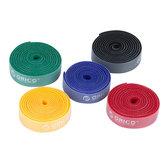 Pakiet 1 PC ORICO CBT-1S Wielokrotnego użytku tęczowe opaski kablowe / opaski kablowe do organizera kabli Kolor tęczy